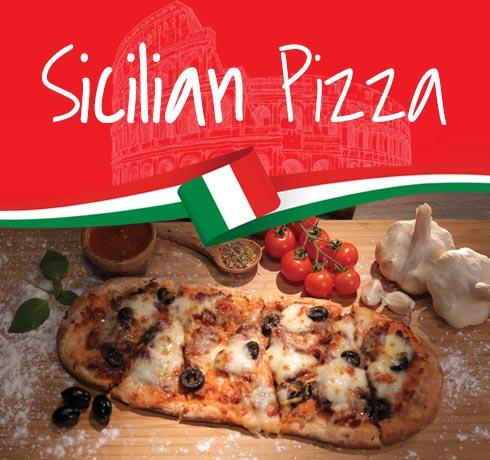 پیتزا سنتی سیسیل Sicilia