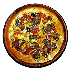 پیتزا ساسج کراست