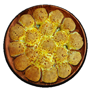 پیتزا بال بایتز(لقمه توپی)